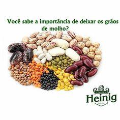 #dica    @Regrann from @vinagreheinig -  O consumo de grãos e sementes no dia a…