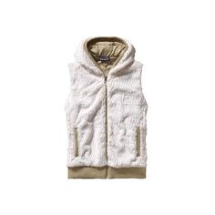 Women's Patagonia Conejo Vest - Raw Linen Vests ($119) ❤ liked on Polyvore featuring outerwear, vests, raw linen, pocket vest, hooded vest, white hooded vest, patagonia and vest waistcoat