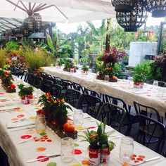 #tbt to a gorgeous, tomato-themed table set at Westport with our friends at Sweet Paul.