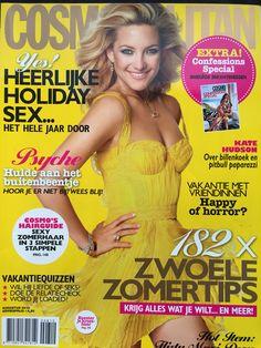 Cosmopolitan, 2010- Kate Hudson- Photographer Carter Smith- Picture editor Anja Koelstra  #Cosmopolitan