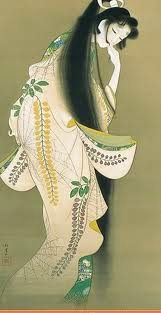 'Rokujou-miyasudokoro', very noble woman, but became a living vangeful ghost in 'Genji-monogatari'.