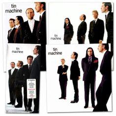 """David Bowie and the Tin Machine –> beard appreciation Bonus: "" Tin Machine, Ziggy Played Guitar, The Thin White Duke, Major Tom, Music Covers, Kinds Of Music, David Bowie, Hard Rock"