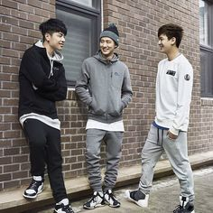 Junhoe, B.I, & Chanwoo for NEPA 2015 Fall/Winter Season Pictorial