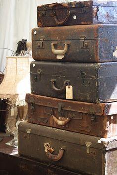 I like vintage suitcases