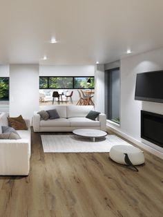 """Vinylboden I Gerflor Vinyl Trend 55 """"0850 Cedar Brown"""" (23 x 150 cm) I Jetzt hochwertiges Klebevinyl bei BRICOFLOR online kaufen! #vinylboden #designboden #klebevinyl #holzoptik #bodenbelag #wohnzimmer #modern #stilvoll #wohnen #hochwertig #elegant #zuhause #homedecor #ambiente #interior #einrichtung #ideen Trends, Elegant, Brown, Home Decor, Home Flooring, Living Room Modern, Ad Home, Ideas, Classy"""