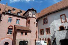 Burghof Burg Breuberg