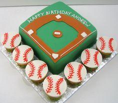 Baseball Cake, carter