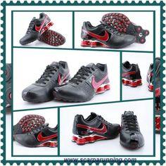 cheap for discount a997e 0b231 borse online Nero Rosso Nike Shox OZ-D OZ-007 acquisti on line