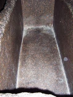 Granite coffer in Kings Chamber Pyramid of Khufu