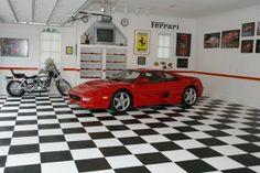 Garage Innovations, Race Deck flooring  http://www.garageinnovation.com/g-flooring.htm#