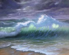'Translucent' Karen Malmgren Artist Oil on canvas