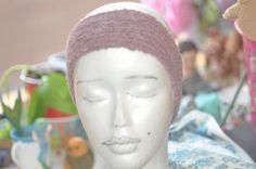 Ribbed pink headband by jfaypaperdolls on Etsy