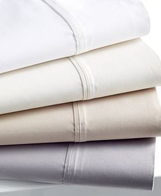 Charter Club 1000 Thread Count Sheet Sets. These are my favorite sheets ever. I got them in white, with a deep pocket style to best fit our bed.