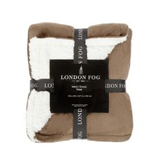 One of my favorite discoveries at ChristmasTreeShops.com: Warm London Fog® Reversible Throw Blanket