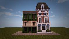 Eingebettetes Bild - Minecraft World Minecraft Mods, Modern Minecraft Houses, Minecraft City Buildings, Minecraft Structures, Minecraft Plans, Amazing Minecraft, Minecraft Houses Blueprints, Minecraft House Designs, Minecraft Tutorial
