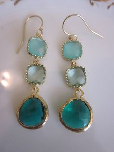 I love these! They remind me of sea glass