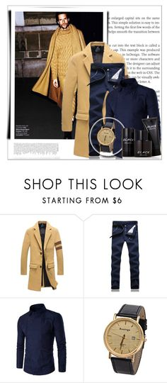 """""""Rosegal 62/ II"""" by emina-095 ❤ liked on Polyvore featuring Kenneth Cole, men's fashion, menswear, polyvoreeditorial and rosegal"""