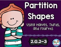 Partitioning Shapes Math Tasks and Exit Tickets 2nd Grade - Your second graders will be experts at 2.G.2 and 2.G.3 when you use this resource! With purchase you'll receive 5 math tasks for cooperative learning, 9 exit tickets for individual assessment, and I can statements. Click through to see how you can use these in math centers, stations, small group work, assessments, lessons, and more! Just print & go! $