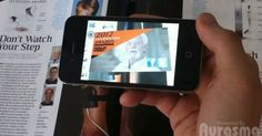 Cool! Popular Science Magazine gets interactive with Augmented Reality App.