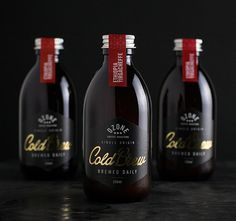 Ozone Cold Brew | Love the luxurious yet dark mood.