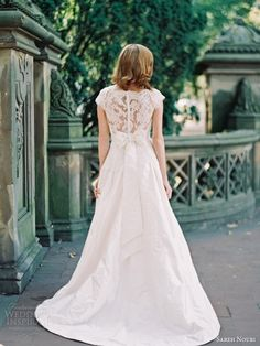 Sareh Nouri Bridal Fall 2014 Wedding Dresses — Central Park Lookbook Shoot | Wedding Inspirasi