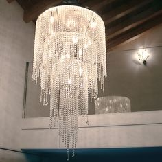 Circus chandelier becomes the protagonist of every environment, a bright crystal jewel.