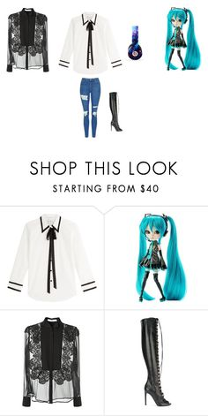 """""""Untitled #1654"""" by coolcat64265leeacoiron ❤ liked on Polyvore featuring Marc Jacobs, Givenchy, Giambattista Valli, Topshop and Beats by Dr. Dre"""