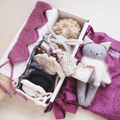 ❤Кукла с набором одежды, платье, котик и вязаная корона! #lerusha #handmade #doll
