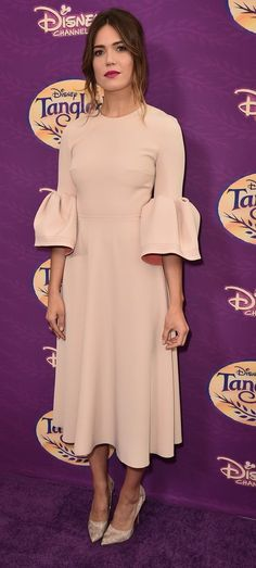 "Mandy Moore in Roksanda attends a screening of Disney Channel's ""Tangled Before Ever After"" in L.A. #bestdressed"