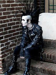 Image result for Dark Sexy Goth Guys
