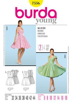 Burda Style Pattern 7556 Dress