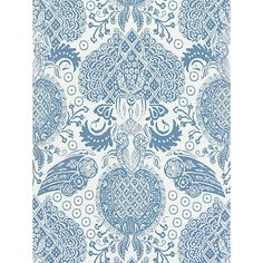 Buy Denim Christian Lacroix for Designers Guild Marseille Wallpaper from our Wallpaper range at John Lewis & Partners. Designers Guild Wallpaper, Victorian Terrace, New England Style, Wallpaper Online, Christian Lacroix, Architectural Elements, Damask, Diy Wedding, Home Accessories
