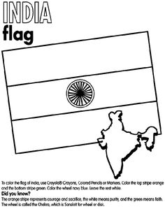 flag color sheet for thinking day World Thinking Day, India Colors, Flag Colors, Camping Crafts, To Color, Activity Centers, Free Coloring Pages, Girl Scouts, Preschool Activities