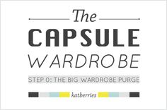 How to purge your wardrobe, minimise your closet, in three steps