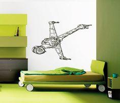 kik2276 Wall Decal Sticker Spaceship Star Wars children's bedroom Living
