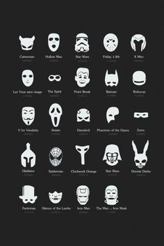 Movies & Masks - Cute!