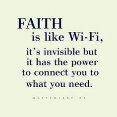 Faith sustains! | Words of strength