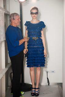 Marlene Crochês: Modelos Lindos de Vestido de Crochê