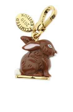 Juicy Couture  Chocolate Bunny Charm 2010