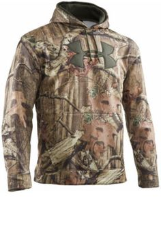 Cabelas Canada - Clothing - Men's Hunting - Big Game Patterns - Under Armour Big Logo Hunting Hoodie XL size