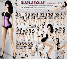 Tutys introduces the Burlesque sexy and funny female AO for Lolas tango mesh breast and Curvy shaped avatars which is basically same animations of . Burlesque Photography, Boudoir Photography Poses, Funny Photography, Boudoir Posen, Pinup Photoshoot, Photoshoot Ideas, Sexy Posen, Bikini Poses, Pin Up