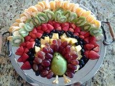 thanksgiving turkey, fruit salads, fruit platters, pot luck, thanksgiving appetizers, fruit displays, thanksgiving snacks, healthy fruits, fruit trays