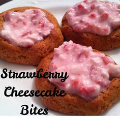 Strawberry Cheesecake Bites @Quest Nutrition #QuestCreations