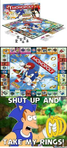 Sonic monopoly | Monopoly: Sonic Version! - Meme Center