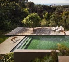 Modern Outdoor: Clean Lined Patios - Decor Home Spa Design, Villa Design, Design Ideas, Design Hotel, Design Inspiration, Design Art, Design Interiors, Modern Design, Modern Pools