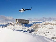 Prefab Green Retreats - The Eco-Temporary Refuge is a Bold Mountaintop Endeavor (GALLERY)