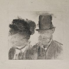 Degas monotype.   The monotype also sparked a host of experiments for Degas, who often used the medium as a starting point from which an image could be reworked and revised. This process of repetition and transformation, mirroring and reversal, allowed Degas to extend his approach to the study of form.