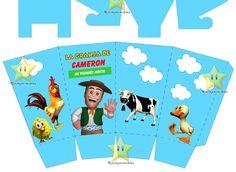 Kit Imprimible Granja De Zenon Canciones De La Granja Y Mas - S/. 18 en Melinterest Farm Birthday, Ideas Para Fiestas, Karaoke, Family Guy, Printables, Baby Shower, Party, Fictional Characters, Watercolor Cards
