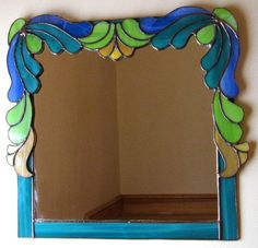 Art Deco Mirror. Etsy.