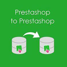 Prestashop to Prestashop Migration Tool by LitExtension is a full feature module allows Prestashop store owners to migrate data from their store to Prestashop. Migration data includes: Products, Categories, Customers, Customers Password, Orders, Reviews, Manufacturers, Taxes,… and can be extended via customization
